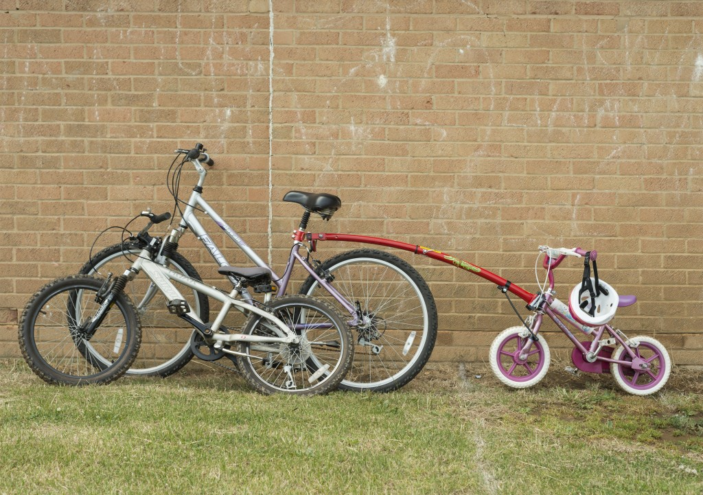 A family that bikes together stays together!