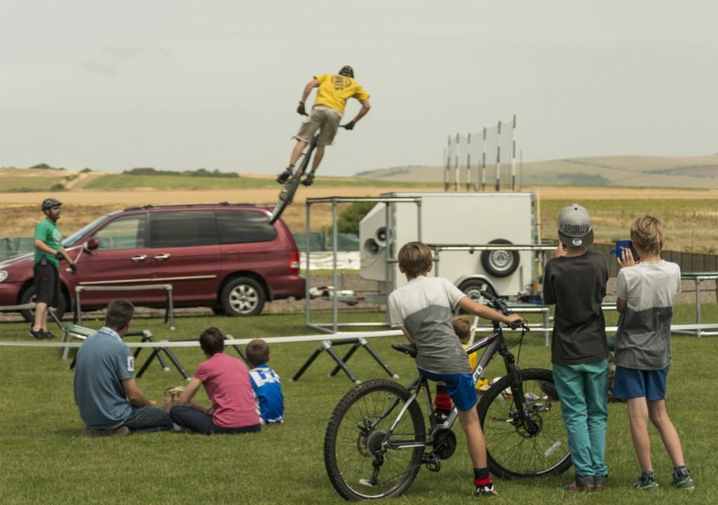 THINKBIKE! Stunt display team.